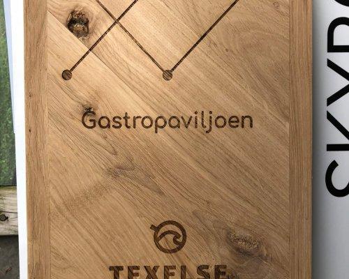 Gastropaviljoen TX Branding
