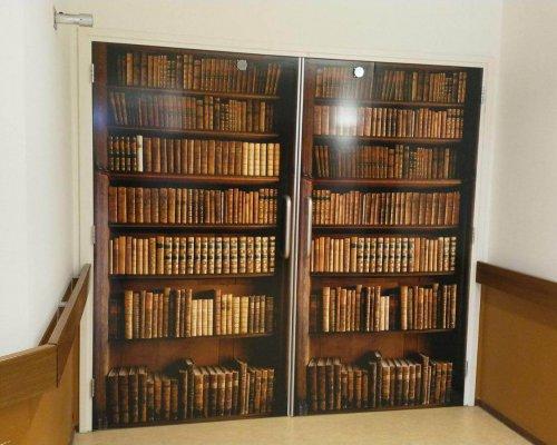 wand boekenkast